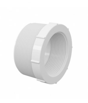 Bucha de Redução Curta Branca PVC