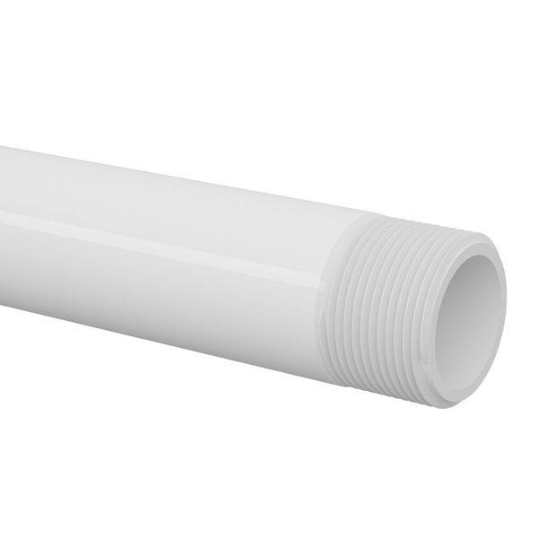Cano Branco PVC Roscável 25mm ou 3/4
